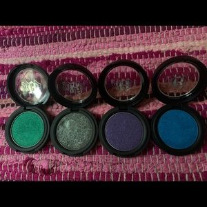 KVD Metal Crush Shadows (all 4)